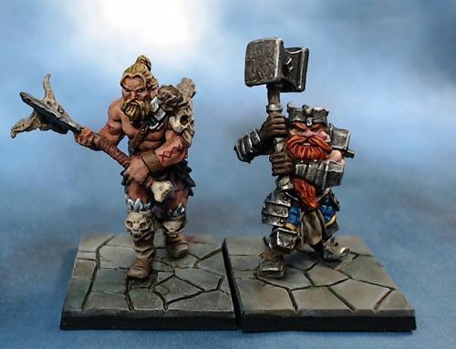 W.I.P – Los heroes Rordin y Orlaf  de Dungeon Saga