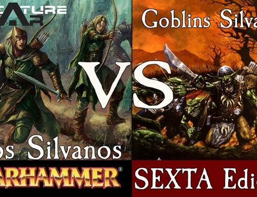 Warhammer 6th – Elfos Silvanos vs Goblins Silvanos