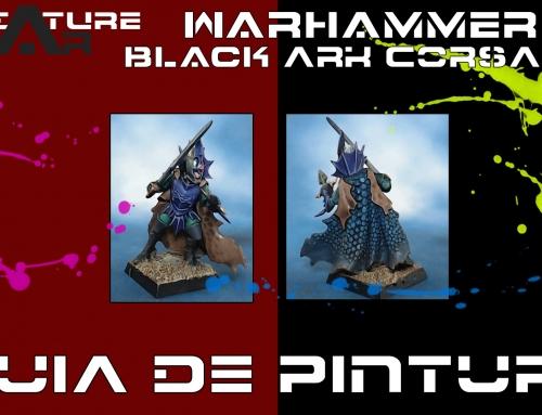 Guia de Pintura – Warhammer: Black Ark Corsairs – Painting guide(ENG-Sub)